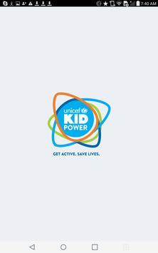 UNICEF Kid Power Program poster