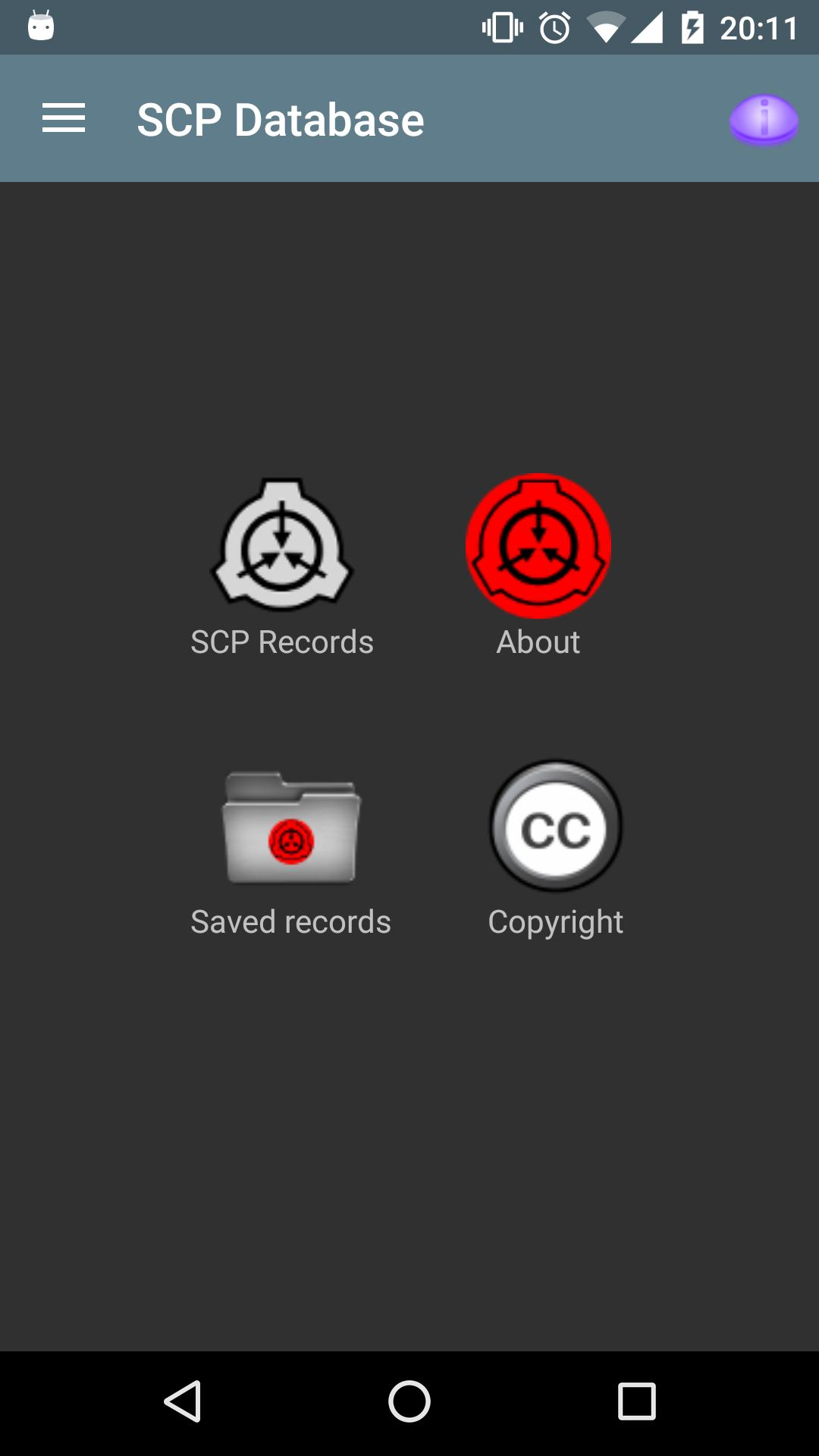 Scp Database For Android Apk Download