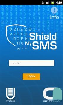 ShieldMySMS poster