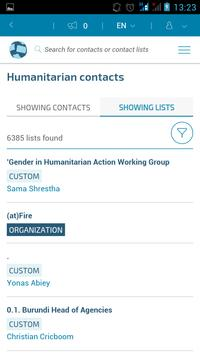 Humanitarian ID screenshot 3