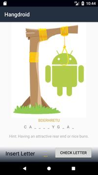 Hangdroid poster