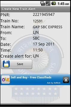 Indian Railway Train Alarm screenshot 1