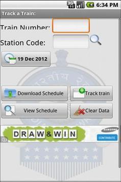 Indian Railway Train Alarm screenshot 2