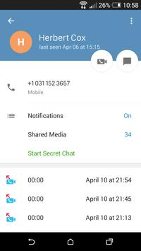 Vidogram apk screenshot