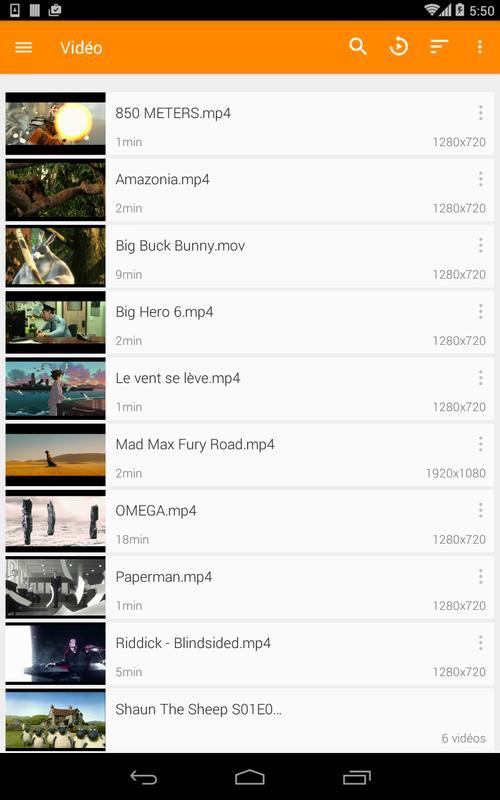 <b>Télécharger</b> <b>VLC</b> dernière version <b>2</b>.<b>1</b>.11 Pour <b>Android</b>