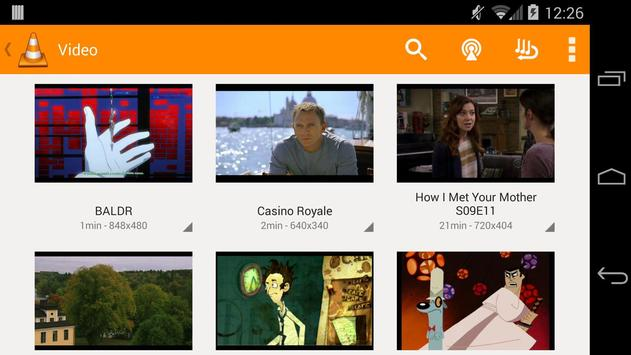 VLC for Android beta apk تصوير الشاشة
