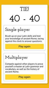 Vinces Certamen Latin Game screenshot 5