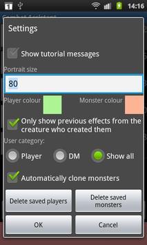 Combat Assistant (Free) apk screenshot