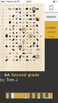 MoonBoard Climbing screenshot 2