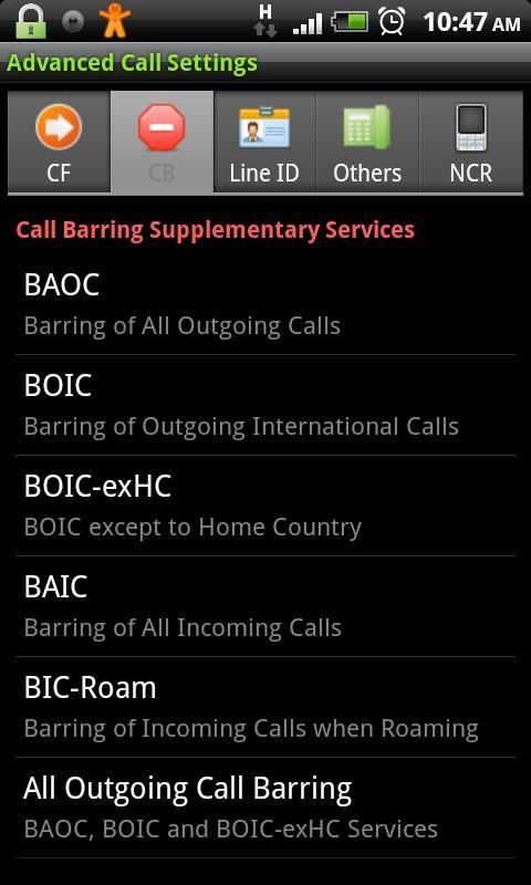 Advanced Call Settings for Android - APK Download