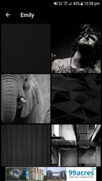 Black and White Wallpapers screenshot 3
