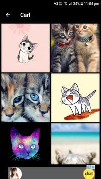 Cat Wallpapers (4K, Full HD) : Soft & Cute apk screenshot