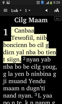 Moba Nouveau Testament apk screenshot