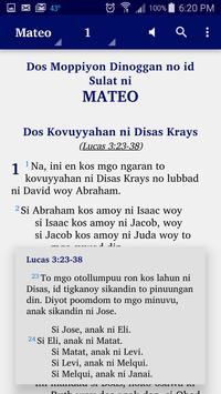 Obo Manobo - Bible screenshot 1