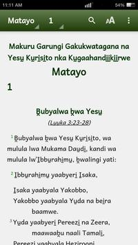 Lugungu Bible apk screenshot