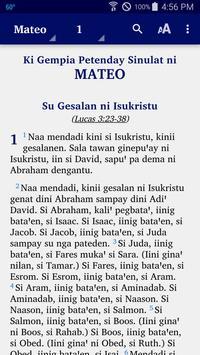 Subanen Central - Bible poster