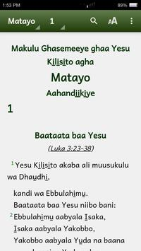 Lubwisi Bible apk screenshot