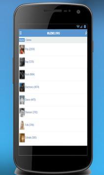 Muzmo Music apk screenshot