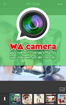 Camera Whatsapp: Photo editor poster