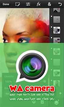 Camera Whatsapp: Photo editor apk screenshot