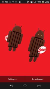 KitKat 3D Live Wallpaper screenshot 1