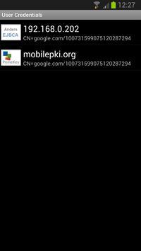 WebPKI Suite apk screenshot