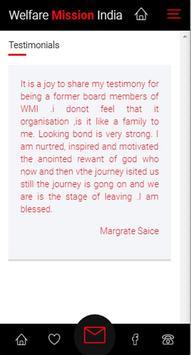 Welfare Mission of India App screenshot 3