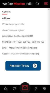 Welfare Mission of India App screenshot 6