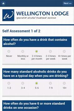 Alcohol Addiction Calculator apk screenshot