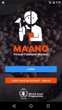 Maano - Virtual Farmers Market 포스터