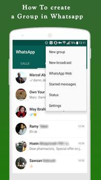 New Whatsapp Messenger Tips screenshot 1