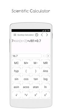 Quickey Calculator screenshot 3