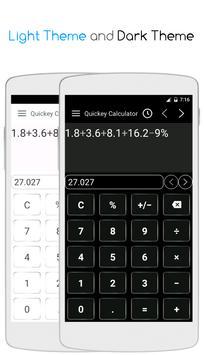 Quickey Calculator screenshot 1