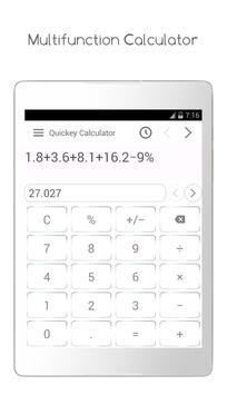 Quickey Calculator screenshot 5