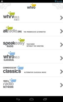 WHRO Radio poster