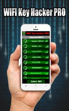 WIFI Key Hacker PRO Prank apk screenshot