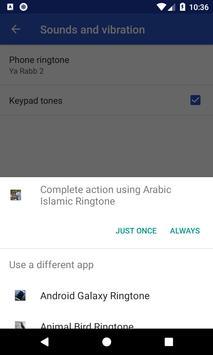 Arabic Islamic Ringtone: phone ringtone app. screenshot 6