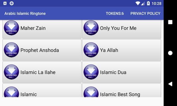 Arabic Islamic Ringtone: phone ringtone app. screenshot 9