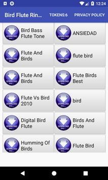 Bird Flute Ringtone: phone ringtone app. poster