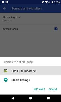 Bird Flute Ringtone: phone ringtone app. screenshot 12