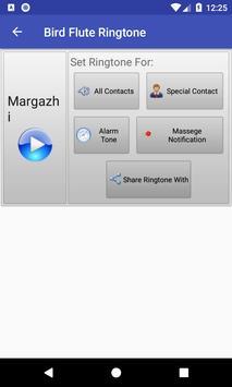 Bird Flute Ringtone: phone ringtone app. screenshot 2