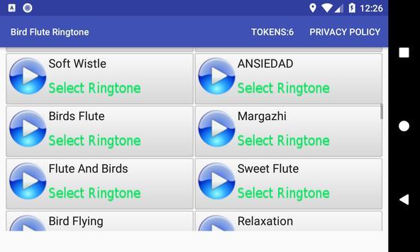 Bird Flute Ringtone: phone ringtone app. screenshot 7