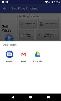 Bird Flute Ringtone: phone ringtone app. screenshot 5