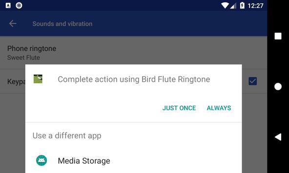 Bird Flute Ringtone: phone ringtone app. screenshot 6