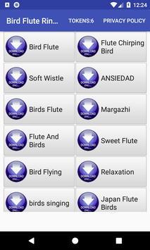 Bird Flute Ringtone: phone ringtone app. screenshot 9