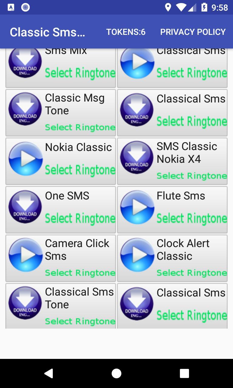 Nokia classic sms tone