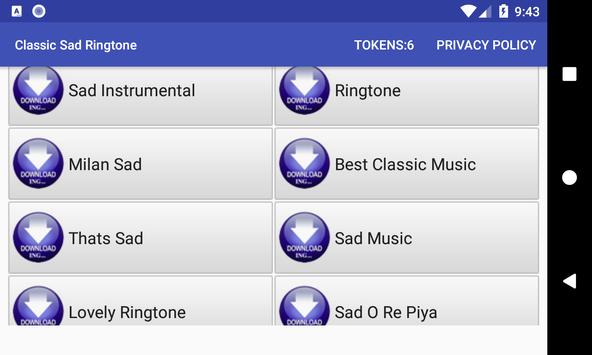 Classic Sad Ringtone screenshot 10
