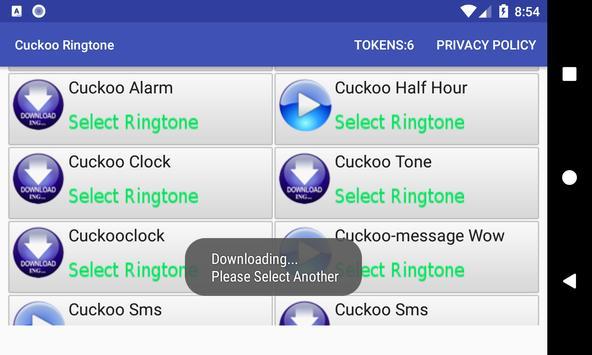 Cuckoo Ringtone screenshot 8