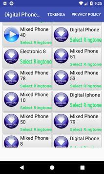 Digital Phone Ringtone screenshot 10