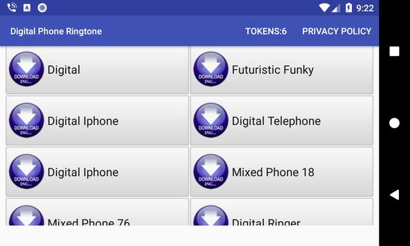 Digital Phone Ringtone screenshot 12
